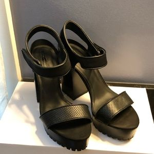 Zara platform Sandals 39